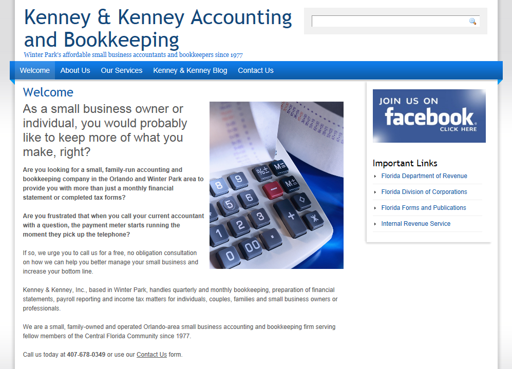 Kenney and Kenney Accounting | James Emerson – An Orlando Franchise