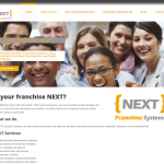 A modern franchise development company wanted a modern web presence that was full of useful content and information on franchising. I love the orange and gray color scheme.