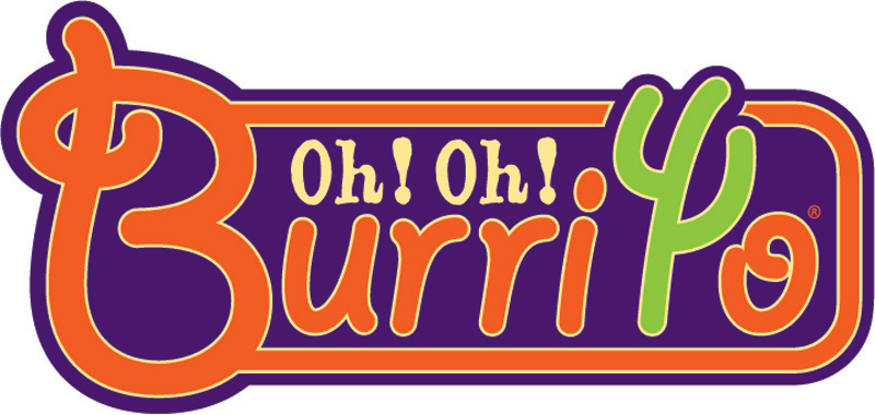 Oh oh burrito logo james emerson an orlando Oh design