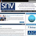 Buying insurance is so complicated today, and SNV Insurance wanted a website that presented a lot of information and answered a lot of questions for potential customers before they even made contact with the company.