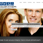 Jen and Chris are the face of My House Fitness, and they wanted to be the face of the website. Their personality really shines through and sells their personal training business.
